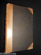SIGNED: Thoughts on the First Forty Chapters of Prophet Isaiah 1857-1st, RARE