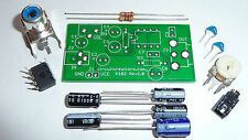 Audio Amplifier Electronic Kit w/ PCB- LM386 With Adjustable Gain & Volume