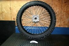 2011 Kawasaki KX250F Factory Black Front Wheel Rim with Tire