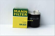 *KRAFTSTOFFFILTER MANN WK 820 Mitsubishi Colt 6, 1,5 DI-D, Smart Forfour 1,5 CDI