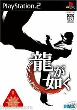 Used PS2  Sega Yakuza Ryu ga Gotoku   SONY PLAYSTATION JAPAN IMPORT