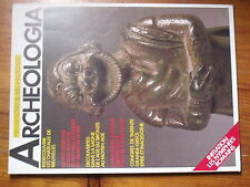 $$c Revue Archeologia N°200 Chateaux de Bruxelles  Saone age du bronze  Tarente