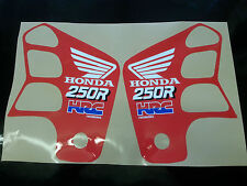 1989 HONDA CR125 250 HRC EVO RADIATOR SCOOP GRAPHICS