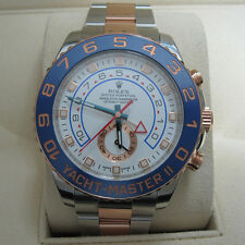 Rolex Yacht-Master II 116681 Ceramic 44mm Blue Rose Gold Steel Mint condition