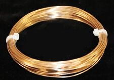 BRONZE ROUND WIRE SOLID 16GA 2OZ  18FT.(SOFT) CRAFT & WIRE WRAPPING