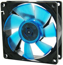 GELID Solutions Wing 8 UV Blue 80mm Ultraviolet Reactive Ultra Quiet Case Fan