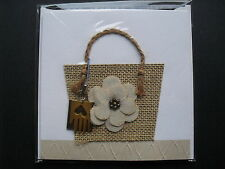 SHOPPING THEMED BLANK CARD From TEN BAMBOO STUDIO PREMIUM GREETING CARDS