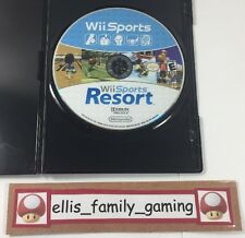 Wii Sports Resort + And Wii Sports 2006  Wii / Wii U 2 GAMES 1 Disc COMBO Bundle