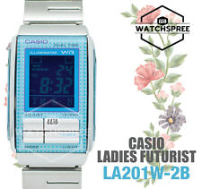 Casio Futurist Digital Ladies Watch LA201W-2B