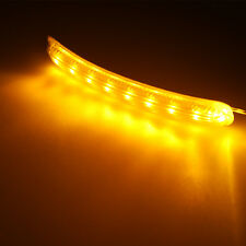 2 x 8-Amber SMD LED Yellow Soft  For Car Side Mirror Turn Signal Indicator Light