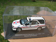 1/43 METAL RENAULT LAGUNA I BREAK NEVADA RXE 1998 POLICE NATIONALE!!!