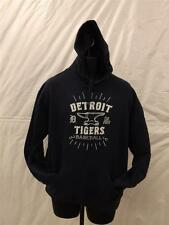 NEW W/TAGS DETROIT TIGERS MENS L LARGE HOODIE by STITCHES 30HL