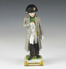 Napoleon Scheibe Alsbach Porcelain Figurine, Hand Painted, impressed marks
