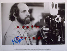 BRIAN DE PALMA - 10X8 - BEHIND CAMERA - CA 1980 - SCARFACE - MISSION: IMPOSSIBLE