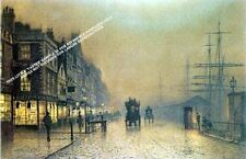 Liverpool Scenes by J Atkinson Grimshaw Artwork by Selby Prints