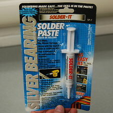Solder-It SP-7 Silver Bearing Solder Paste Syringe 7.1 Grams, Flux Blended In