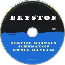 Bryston Hifi Service Manuals & Schematics- PDFs on DVD - Huge Collection