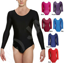 NEW S-M Men PURPLE Lycra Unitard Leotard Gym Suit Bodysuit Swimwear int.5000.