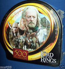LORD OF THE RINGS Jigsaw Puzzle 500 piece FLIGHT PLAINSMEN in COLLECTOR TIN BNIB