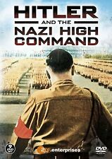 HITLER AND THE NAZI HIGH COMMAND - BOX 9 DVD in Inglese NEW .cp