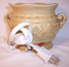 Yankee Candle Co Electric Ceramic Wax Melt Tart Warmer Natural Color