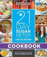 21 DAY SUGAR DETOX COOKBOOK Diane Sanfilippo NEW cookbook diet weight loss carbs