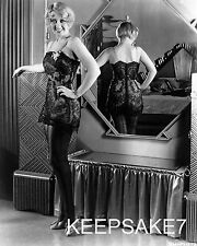 ACTRESS JOAN BLONDELL SEXY IN BLACK LINGERIE LEGGY 8 X 10 PHOTO A-JB8