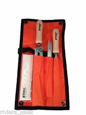 "Stihl MS180 Chainsaw Sharpening /Filing Kit. 4mm 5/32"" 5605 007 1027"