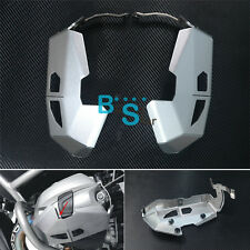 Cylinder Head Guards Protector Cover Silver Fit BMW R1200GS ADV RT 2010-2013 MO