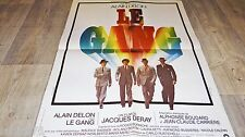alain delon LE GANG ! jacques deray affiche cinema 1977