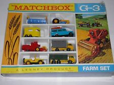 Matchbox lesney-G-3 farm set ensemble cadeau original shrink excellent 1968 rare