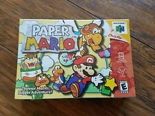 PAPER MARIO (NINTENDO 64, N64 2001) FACTORY SEALED & MINT! - ULTRA RARE!