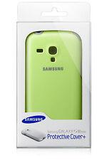 GENUINE Samsung Galaxy S3 Mini Protective Cover Case Green / Grey EFC-1M7BGEGSTD