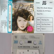 ELKIE BROOKS Pearls II UNIQUE SAUDI VERY DIFFICULT CASSETTE PAPER LABEL