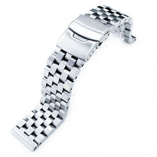 19mm SUPER Engineer Type II Solid Stainless Steel Straight End Watch Band