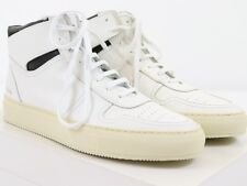 NEW COMMON PROJECTS BBALL RETRO HIGH White Black Leather 42 EU