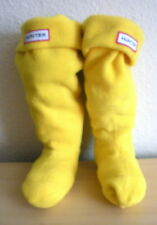 Hunter S Yellow Fleece Boot Liner Welly Socks For Hunter Boots Kids Shoe 1-3