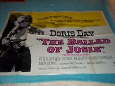 Ballad Of Josie 30x40 Poster Doris Day, Peter Graves