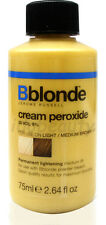 JEROME RUSSELL B BLONDE HAIR CREAM PEROXIDE LIGHT TO MEDIUM BROWN 30 vol 9%