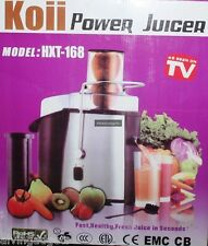 Koii 2 Liter Commercial Quality Power Juicer Whole Fruit Juicer Extractor