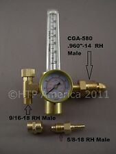 HTP Argon CO2 Mig Tig Flow meter Regulator Welding Weld Flowmeter