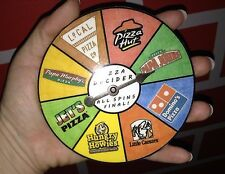 8 of 8 - DECIDER - PIZZA: Hut Johns Dominos Caesars Howies Jets PapaMurphy Local