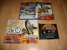 DOWNHILL DOMINATION MOUNTAIN BIKING DE CODEMASTERS PARA LA PS2 USADO COMPLETO
