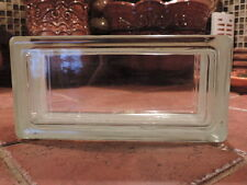 """Glass Block By Weck. NEW!!! 4 x 8 x 3-1/8"""" CLEAR SEE THROUGH  ( Case of 20)"""