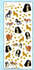 Cavalier King Charles - Tri-colour - Creative Craft Stickers