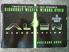 ALIEN RESURRECTION POSTCARD BOOK 30 COLLECTABLE IMAGES 1ST/1ST Aliens