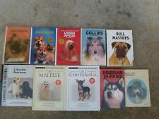 Super Dog Book Reference Lot Great for Vet Student etc Lot of 10