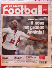 FRANCE FOOTBALL 6/06/1997; France-Angleterre/ Monaco/ Coupe du Monde