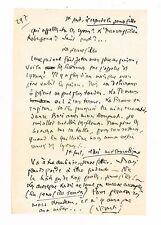 """SAINT-GEORGES DE BOUHELIER / PAGE DU MANUSCRIT DU """"SANG DE DANTON"""""""