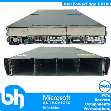 Dell PowerEdge C6100 Cloud 2x Node Server Barebones 4x Heatsink VMware 2U